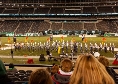 Blackstone-Millville Chargers Marching Band at the US Bands National Championships, Metlife Stadium, East Rutherford, NJ