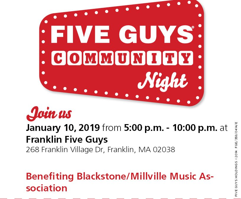 Five Guys Community Night