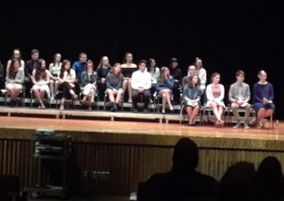 2019 Blackstone-Millville Regional High School Tri-Music Honor Society Induction Ceremony