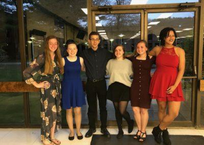 2019 Blackstone-Millville Regional High School Tri-Music Honor Society Induction Ceremony