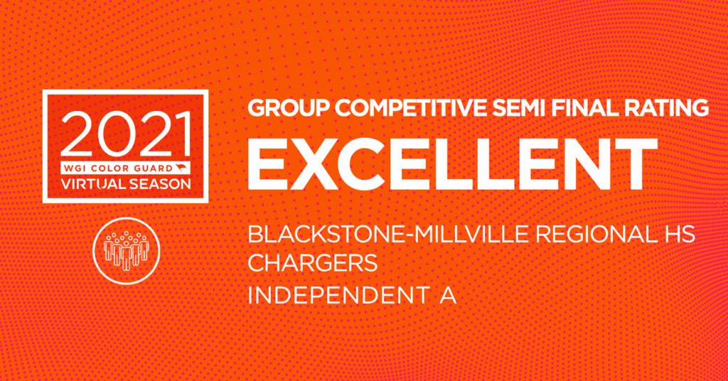 Blackstone Millville Regional HS Color Guard SemiFinal EXCELLENT