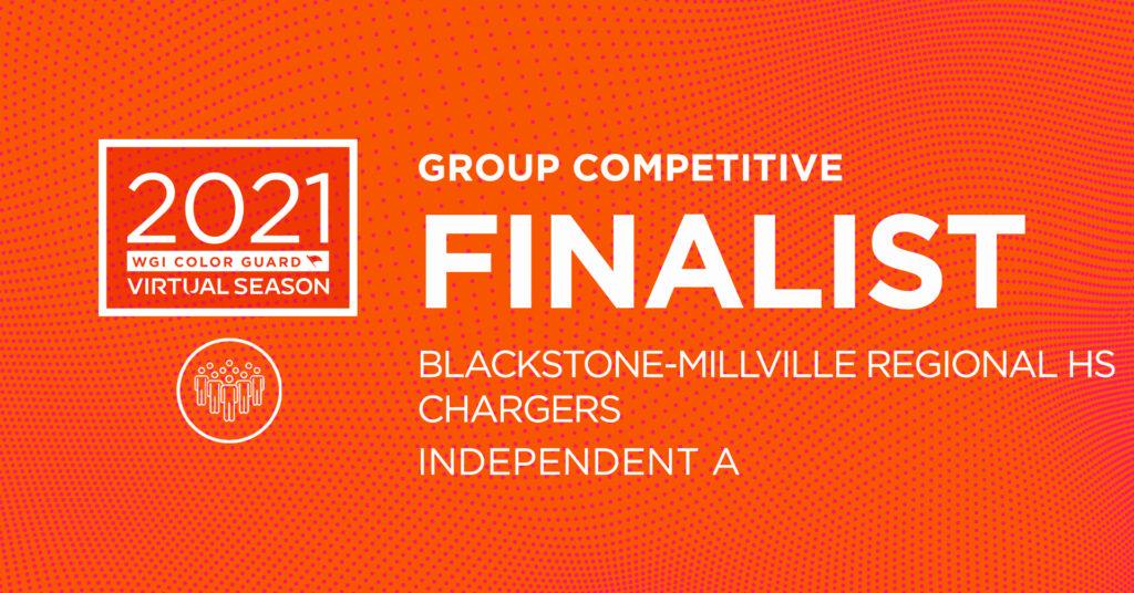 Blackstone Millville Regional HS Color Guard Competitive Finalist